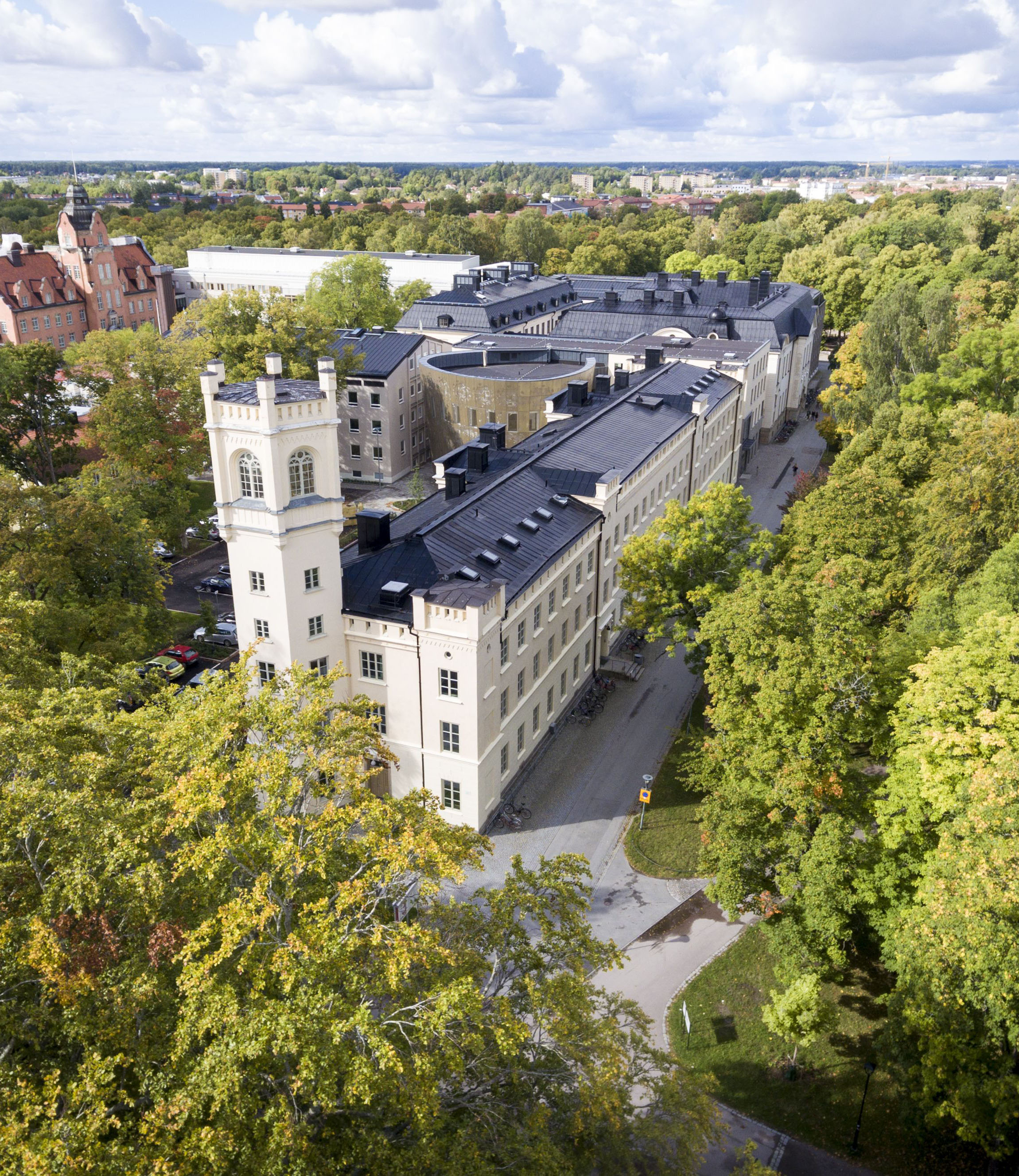 Campus areas in Uppsala and Visby
