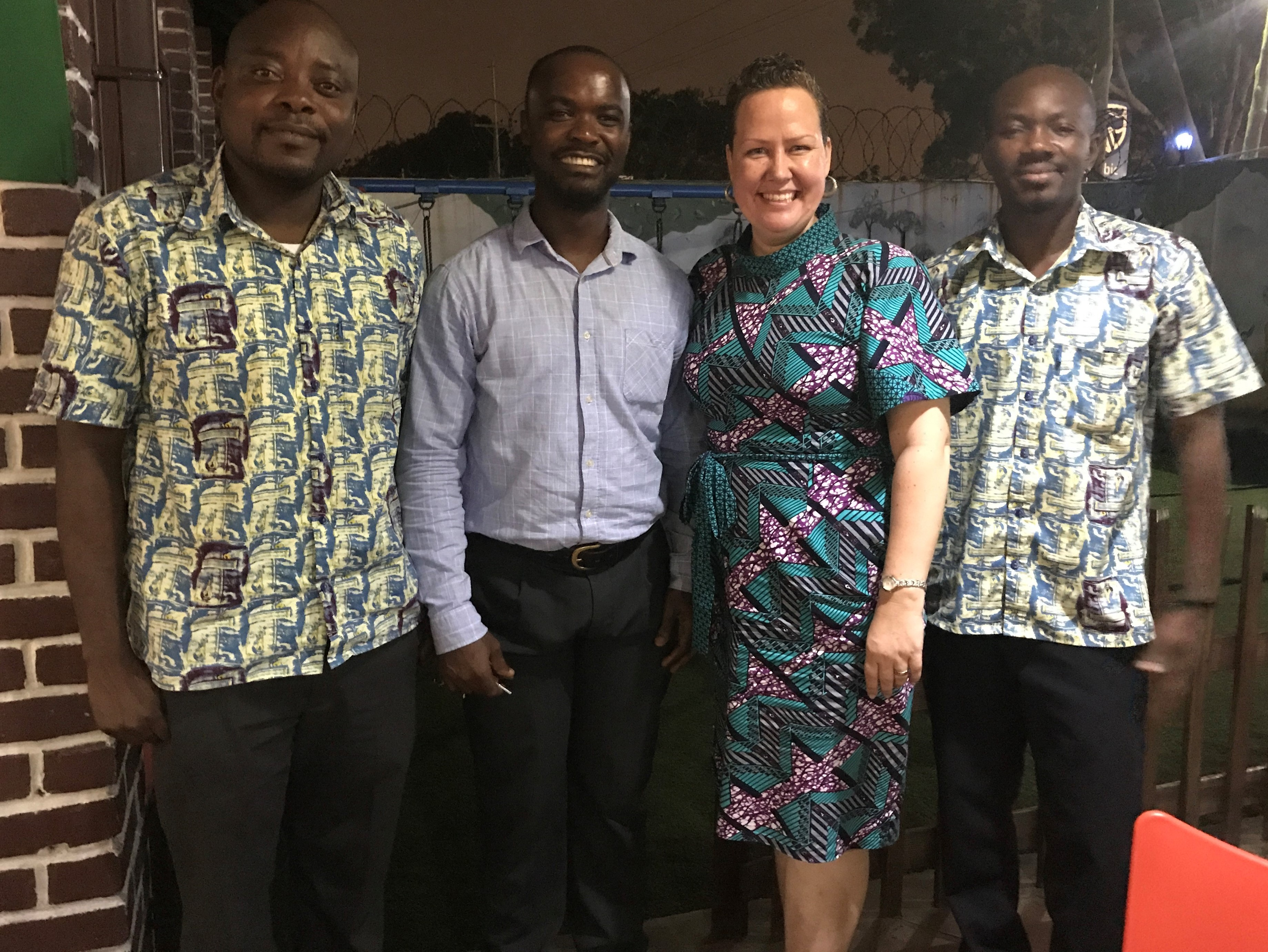 Alumni celebrating Global Alumni Day 2017 in Accra