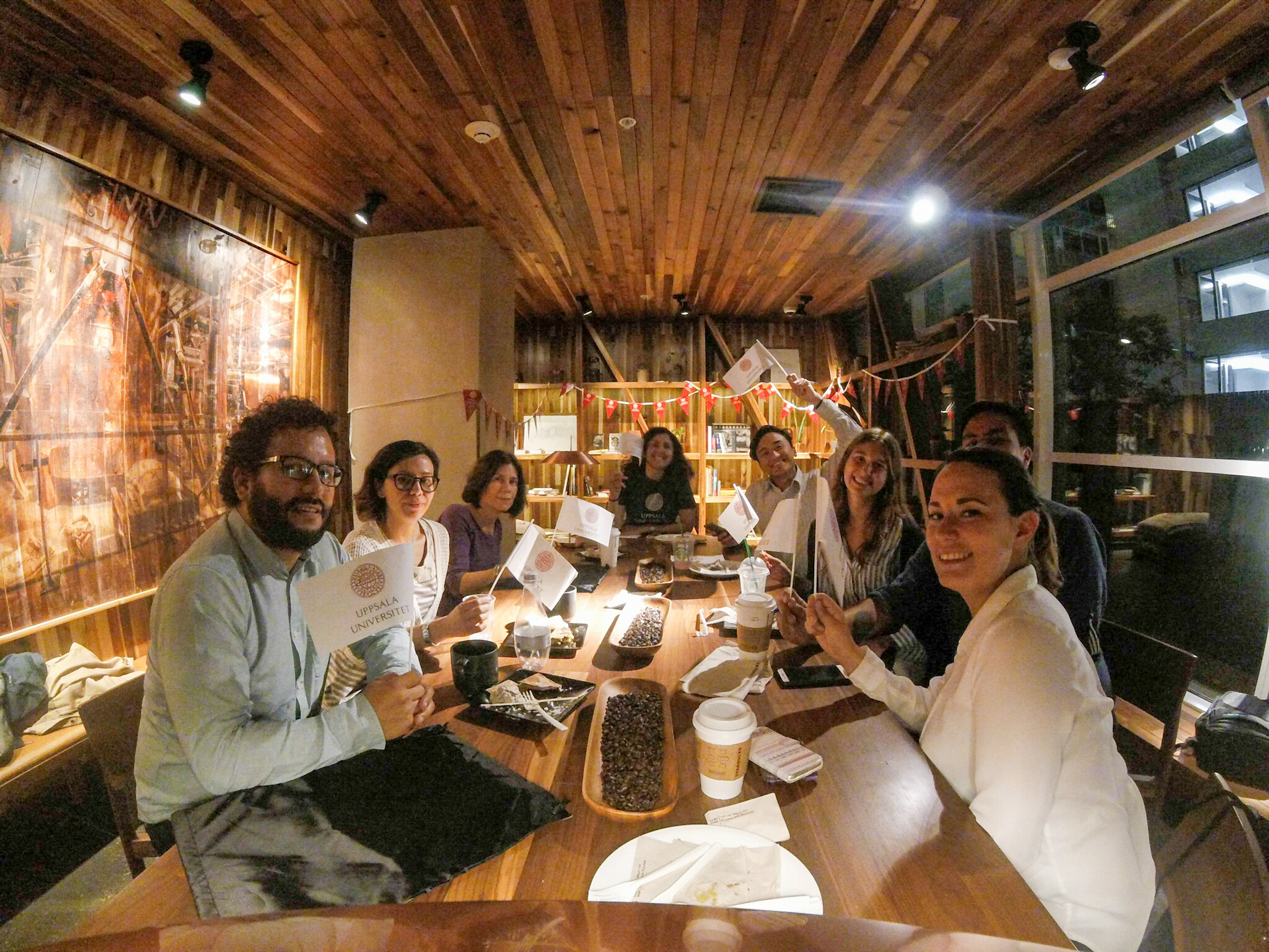 Alumni celebrating Global Alumni Day 2017 in Santiago de Chile