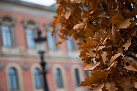Autumn view of the University Main Building