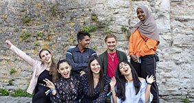 international students at Campus Gotland