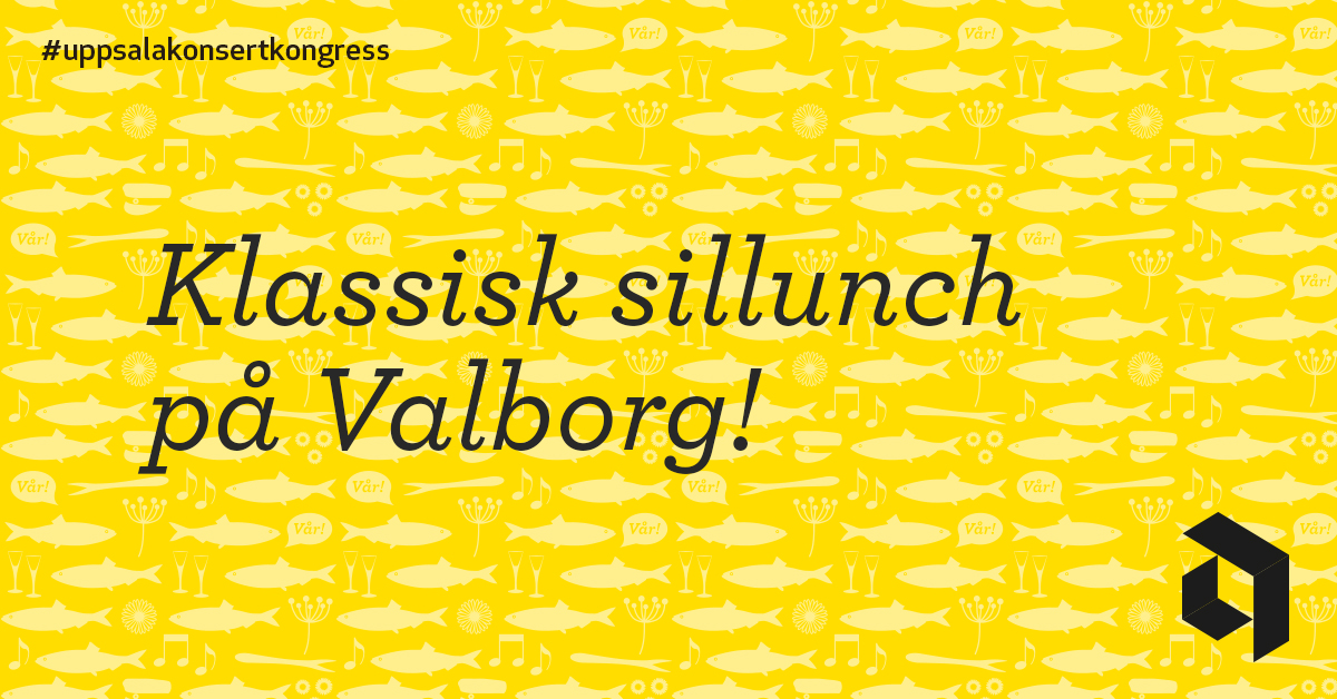 Traditionsenlig sillunch på Uppsala Konsert och Kongress - Save the date